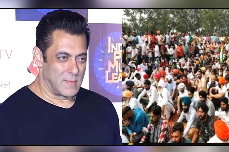 Salman Khan farmers protest