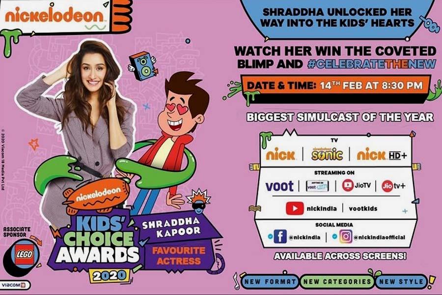 Kids Choice Awards 2020, Valentine Day, shraddha kapoor