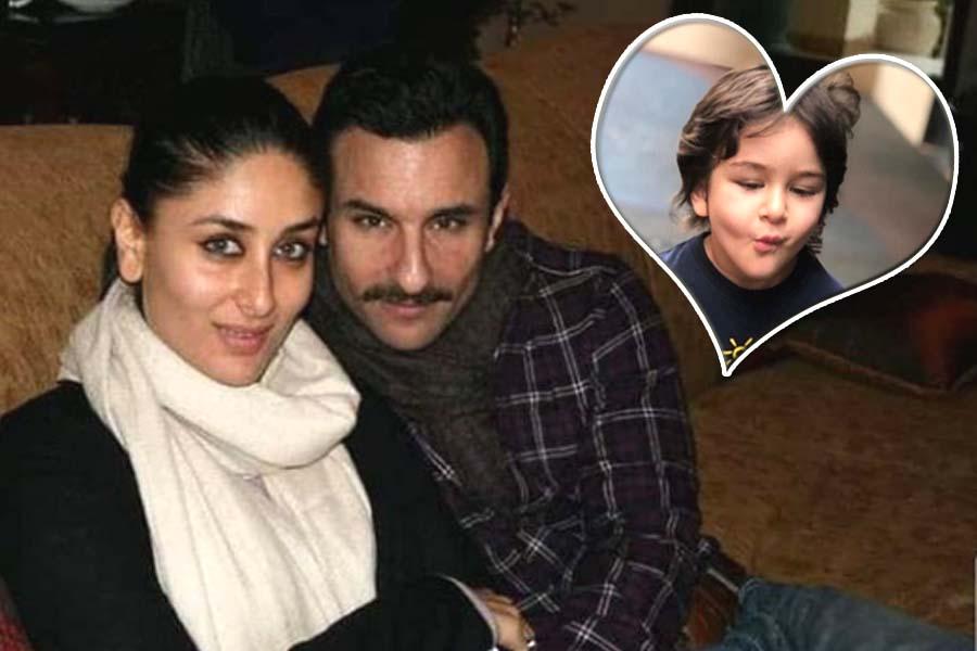 Kareena Kapoor, Saif Ali Khan, Taimur Ali Khan, Valentines Day