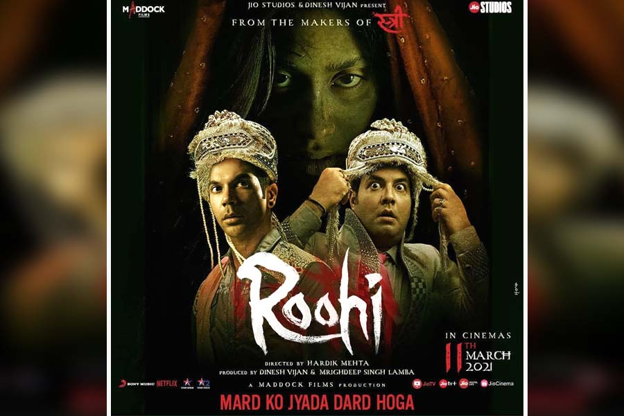 Janhvi Kapoor, Roohi, Rajkummar Rao, Roohi Ticket booking
