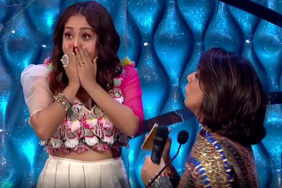 Indian Idol-12 Neetu Singh Neha Kakkar
